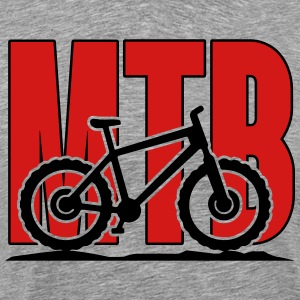 MTB, Mountain Bike Hoodies - Men's Premium T-Shirt