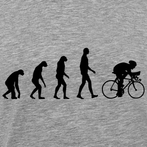 Evolution Bike, Cycling Tanks - Men's Premium T-Shirt