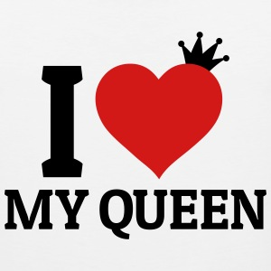 I love my Queen Hoodies - Men's Premium Tank