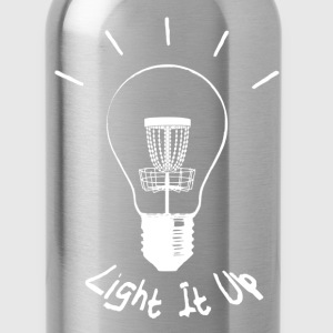 Light it up (white ink) T-Shirts - Water Bottle
