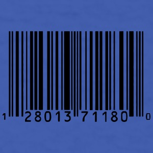 Barcode Mugs & Drinkware - Men's T-Shirt