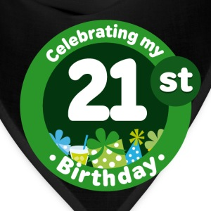 21st Birthday Celebration T-Shirts - Bandana