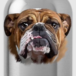 bulldog Women's T-Shirts - Water Bottle