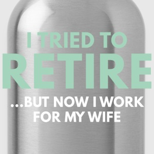 I Tried To Retire - Water Bottle