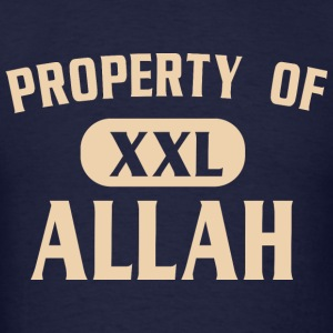 Property of Allah - Mike Tyson - Men's T-Shirt
