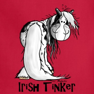 Cute Irish Tinker Horse Hoodies - Adjustable Apron