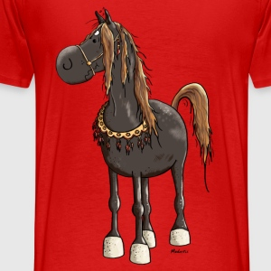 Cute Arabian Horse Hoodies - Men's Premium T-Shirt