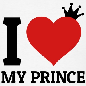 I love my Prince Hoodies - Men's T-Shirt