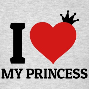 I love my Princess Long Sleeve Shirts - Men's T-Shirt
