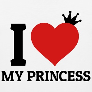 I love my Princess Hoodies - Men's Premium Tank