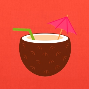 coconut umbrella drink - Tote Bag