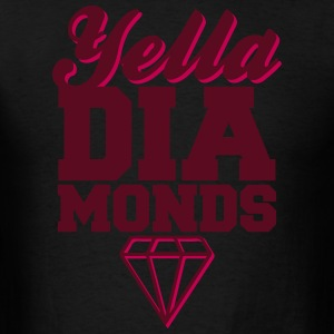 Yella Diamonds Hoodies - Men's T-Shirt