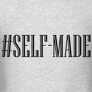 Self Made - Black Hoodies - Men's T-Shirt