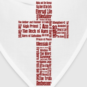 Names of Jesus (cross) - Bandana