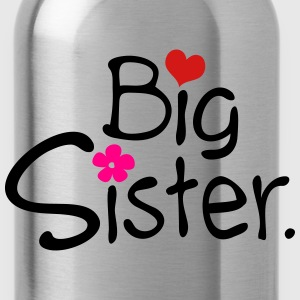 big sister Girl's Ruffle T-Shirt - Water Bottle