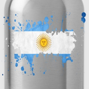 splatter argentina - Water Bottle