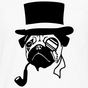 Sir Pug T-Shirts - Men's Premium Long Sleeve T-Shirt