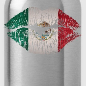 mexico kiss - Water Bottle