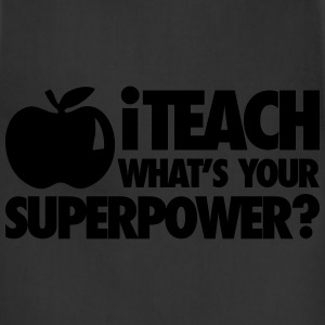 iTech What's Your Superpower? T-Shirts - Adjustable Apron