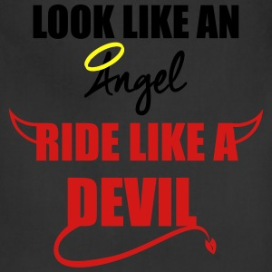 Ride like a Devil Hoodies - Adjustable Apron