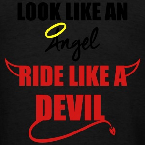Ride like a Devil Hoodies - Men's T-Shirt