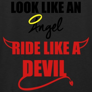 Ride like a Devil Hoodies - Men's Premium Tank