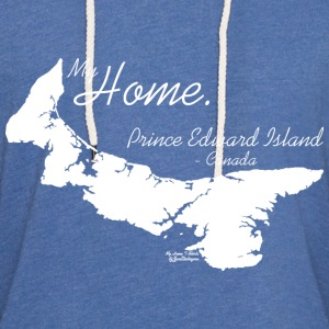 Home T Shirt, Prince Edward Island - PE, White T-Shirts - Unisex Lightweight Terry Hoodie