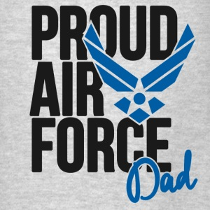 Air Force Dad Army Father Hoodies - Men's T-Shirt