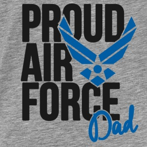 Air Force Dad Army Father Hoodies - Men's Premium T-Shirt