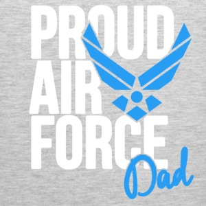 Air Force Dad Army Father Long Sleeve Shirts - Men's Premium Tank