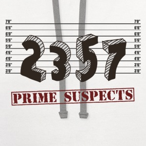 The Prime Number Suspects T-Shirts - Contrast Hoodie