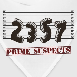 The Prime Number Suspects T-Shirts - Bandana