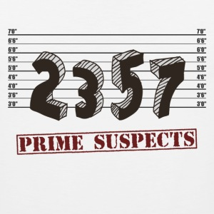The Prime Number Suspects T-Shirts - Men's Premium Tank