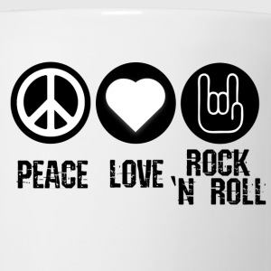 Peace, Love, Rock and Roll - Coffee/Tea Mug