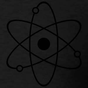 Atom Symbol Zip Hoodies & Jackets - Men's T-Shirt