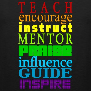 Teach to Inspire  - Men's Premium Tank