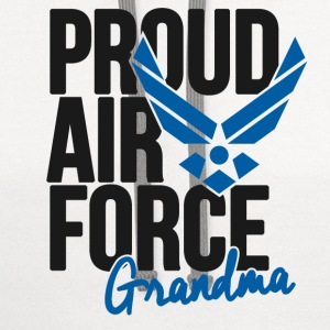 Air Force Grandmother Women's T-Shirts - Contrast Hoodie