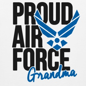 Air Force Grandmother Women's T-Shirts - Men's Premium Tank