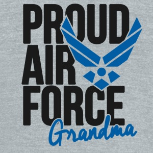 Air Force Grandmother Mugs & Drinkware - Unisex Tri-Blend T-Shirt by American Apparel