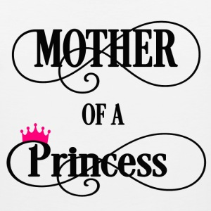 Mother of a Princess Women's T-Shirts - Men's Premium Tank
