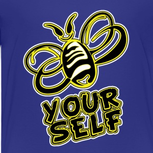 Bee-Yourself (kids) - Toddler Premium T-Shirt