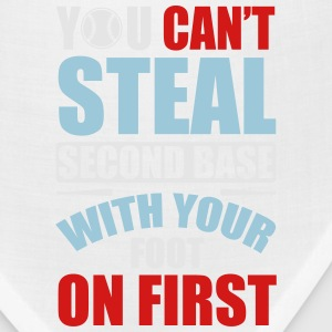You can't steal second base - baseball Women's T-Shirts - Bandana