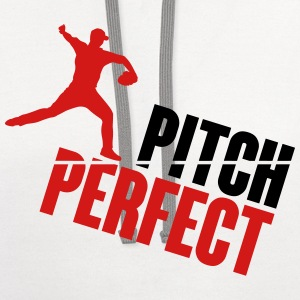 Pitch Perfect - baseball T-Shirts - Contrast Hoodie