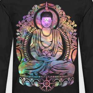 Cosmic Buddha T-Shirts - Men's Premium Long Sleeve T-Shirt