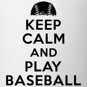 Keep calm and play baseball Kids' Shirts - Coffee/Tea Mug