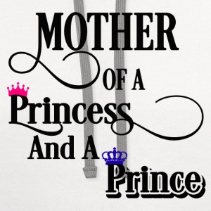 Mother Princess & Prince Women's T-Shirts - Contrast Hoodie