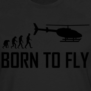 born to fly T-Shirts - Men's Premium Long Sleeve T-Shirt
