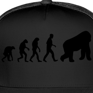 gorilla evolution T-Shirts - Trucker Cap