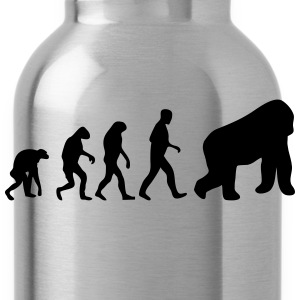 gorilla evolution T-Shirts - Water Bottle