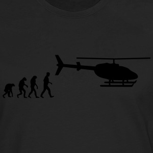 helicopter evolution T-Shirts - Men's Premium Long Sleeve T-Shirt
